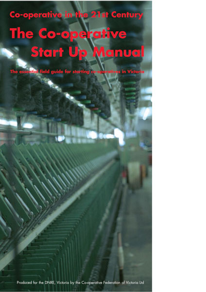 The Co-op Start Up Manual