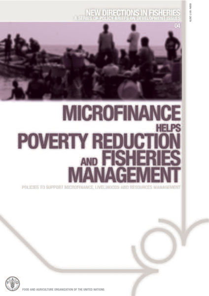 Microfinance helps poverty reduction and fisheries management