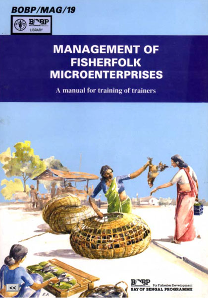 Management of Fisherfolk Microenterprises: A manual for training of trainers