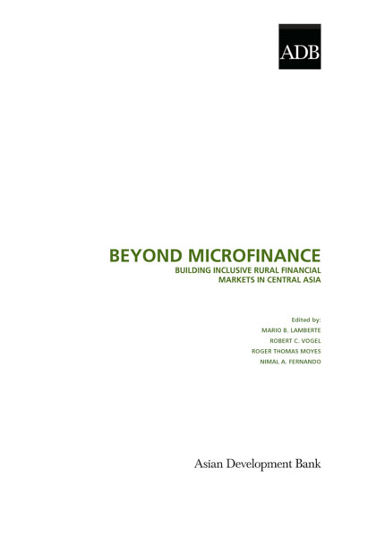 Beyond Microfinance: Building Inclusive Rural Financial Markets in Central Asia
