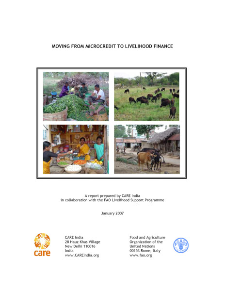 Moving from Microcredit to Livelihood Finance