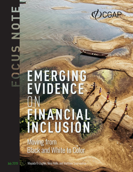 Emerging Evidence on Financial Inclusion: Moving from Black and White to Color