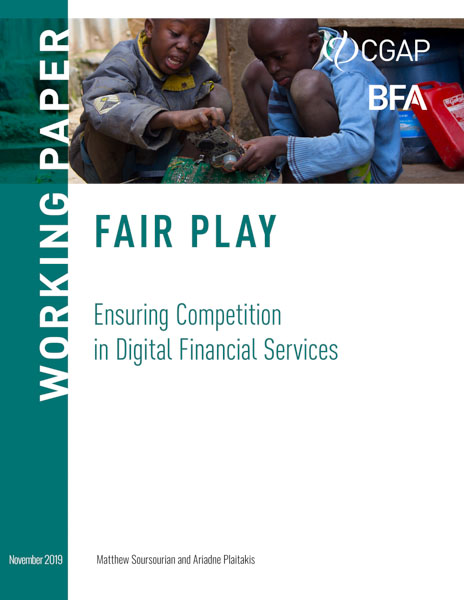 Fair Play: Ensuring Competition in Digital Financial Services