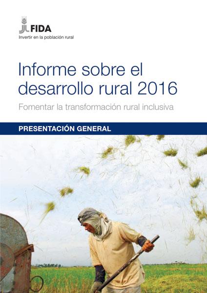 Informe sobre el desarrollo rural 2016