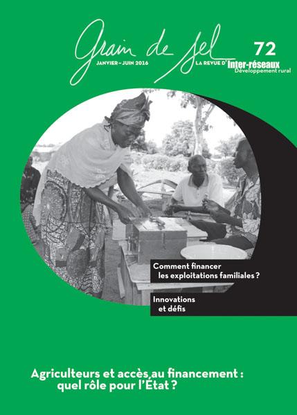 Grain de Sel_n°72_Agriculteurs et accès au financement : quel rôle pour l'État ?