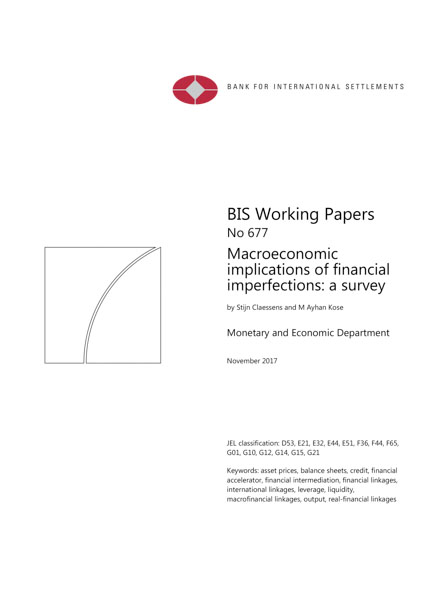 Macroeconomic implications of financial imperfections: a survey