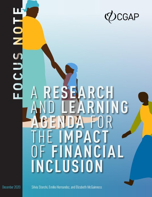 A Research and Learning Agenda for the Impact of Financial Inclusion