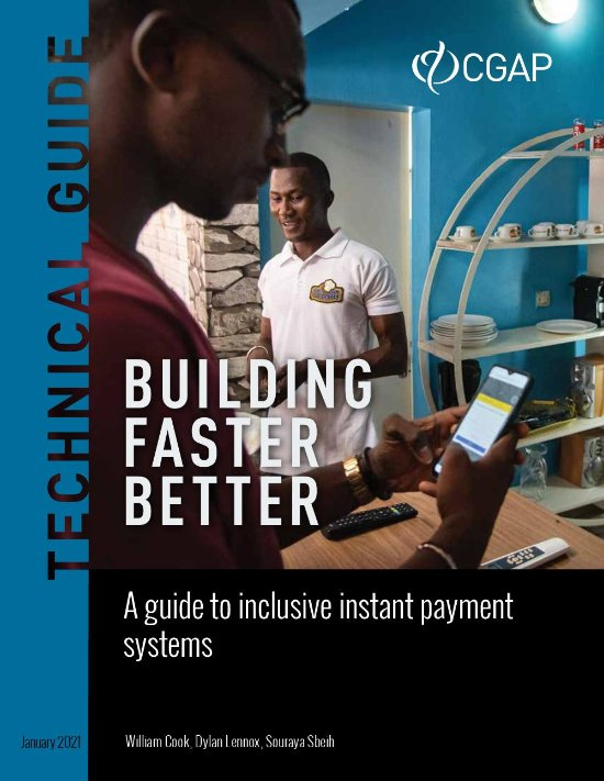 Building Faster Better: A Guide to Inclusive Instant Payment Systems