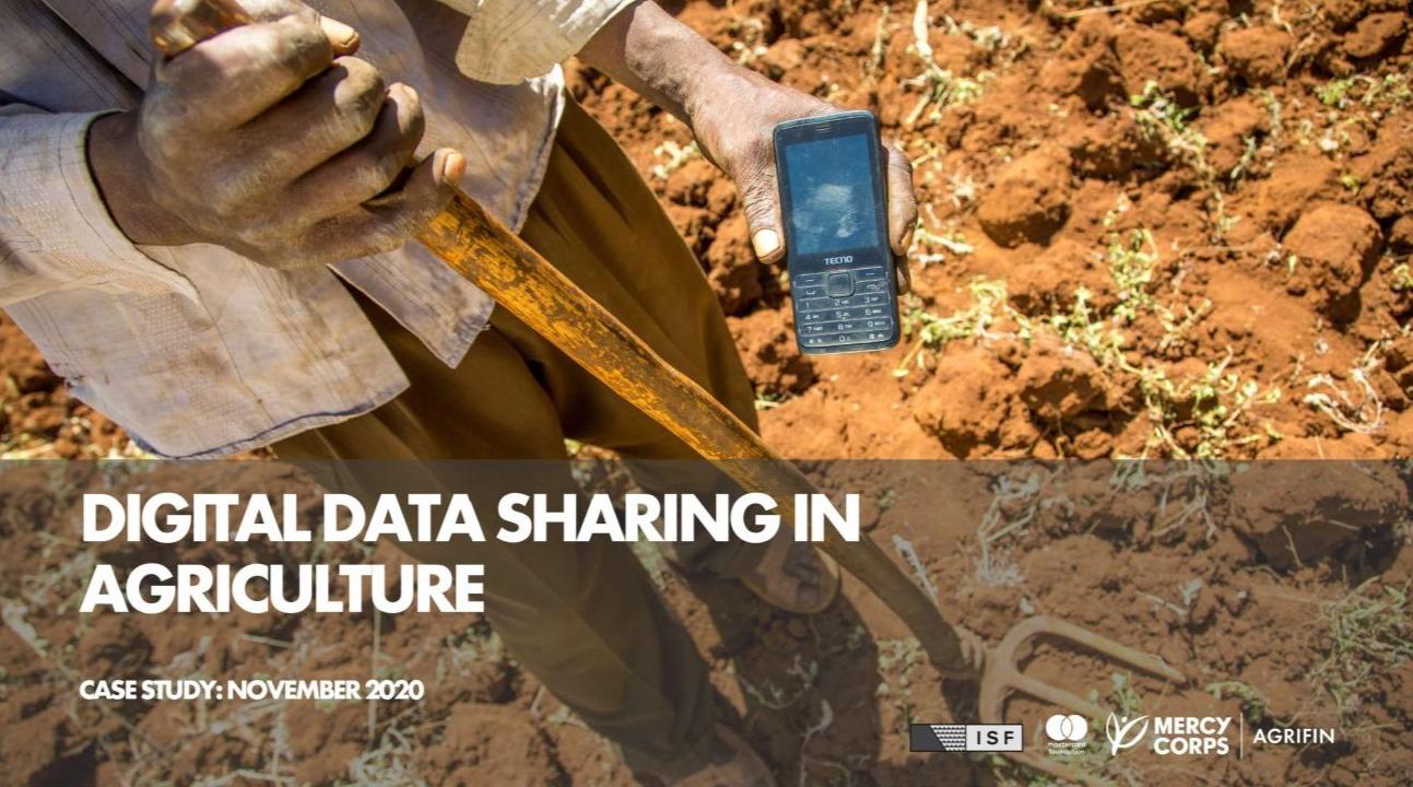 Digital data sharing in agricualture