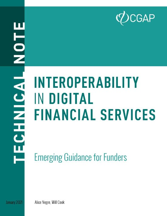 Interoperability and Digital Finance: Emerging Guidance for Funders