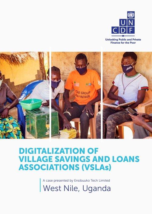 Digitalization of Village Savings and Loans Associations (VSLAs) in Uganda