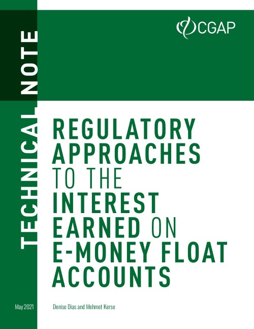 Regulatory Approaches to the Interest Earned on E-Money Float Accounts