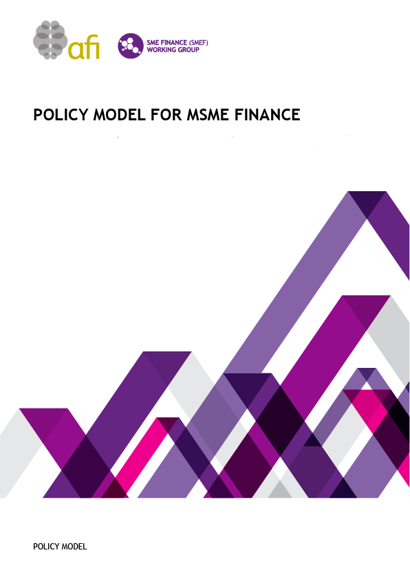 Policy Model for MSME Finance